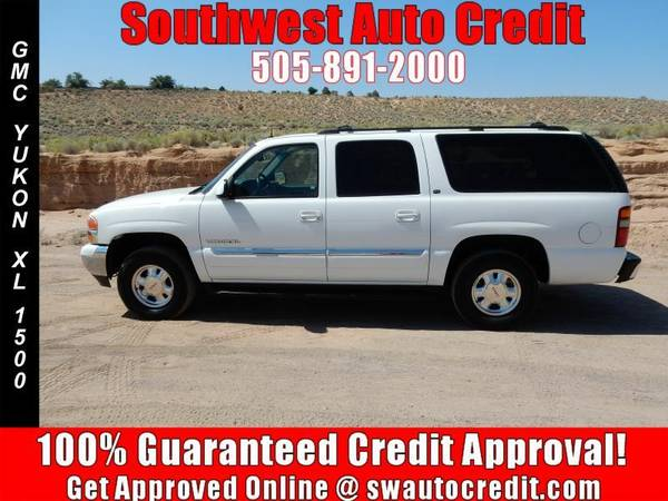 2002 GMC Yukon XL 1500- THIRD ROW SEATING, *IN HOUSE FINANCING*