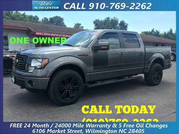 2012 Ford F-150 4WD SuperCrew 157 FX4 with