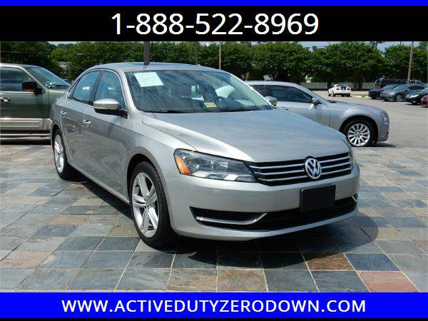 2014 VOLKSWAGEN PASSAT SE= Military Financing- Tons of Imports in Sto