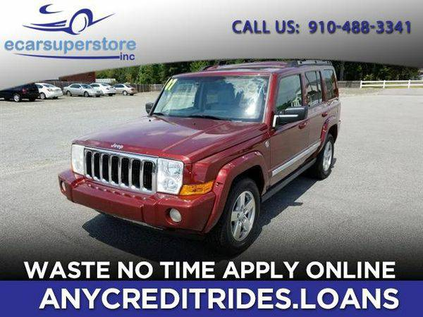 2007 *Jeep* *Commander* Limited 4WD You're Approved or Car is...