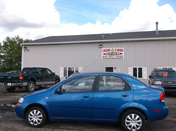 2005 CHEVROLET AVEO LS, 4CYL, AUTO, 103K, GREAT GAS MILEAGE