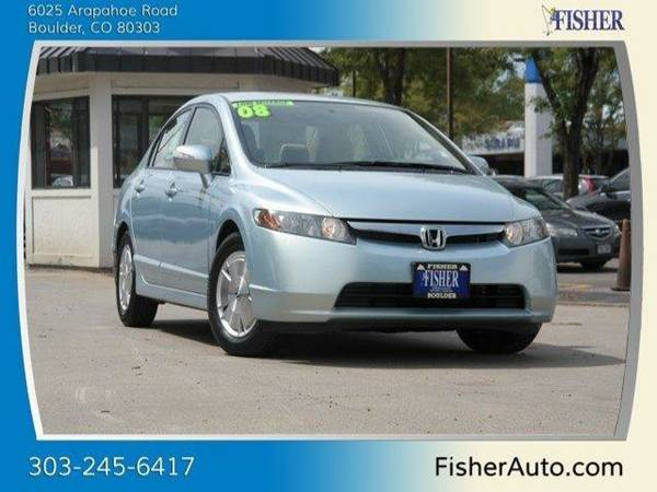 2008 Honda Civic Hybrid 4dr Sdn 4dr Car 4dr Sdn