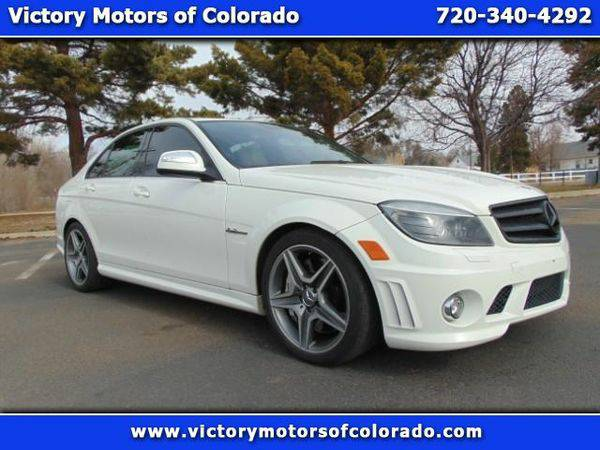 2009 *Mercedes-Benz* *C-Class* C63 AMG Sport Sedan - Over 450...