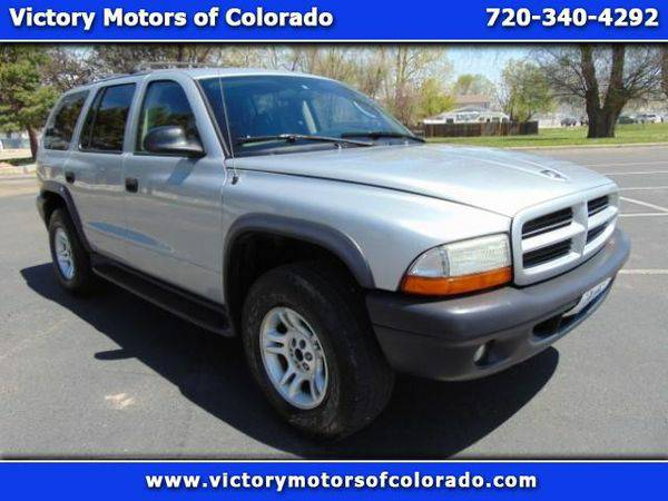 2003 *Dodge* *Durango* Sport 4WD - Over 450 Vehicles to Choose From!