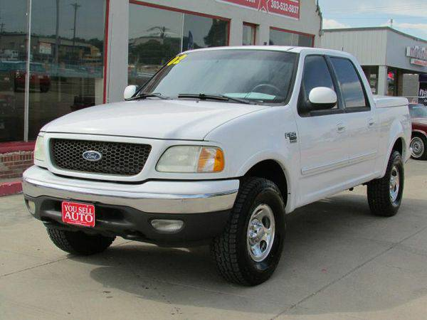 2002 *FORD* *F150* SUPERCREW 4WD 1-OWNER - CALL / TEXT 📱...