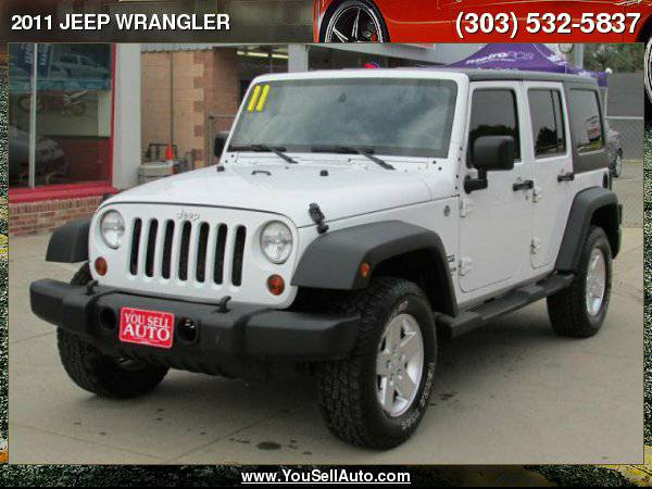 2011 JEEP WRANGLER UNLIMITED SPORT **0dn_328mo**