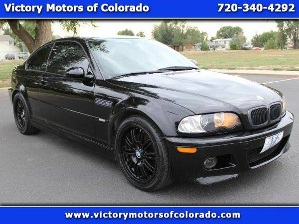2003 *BMW* *M3* Coupe - Over 450 Vehicles to Choose From!