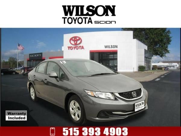 2013 Honda Civic LX Dk. Gray