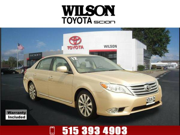 2012 Toyota Avalon Limited Tan