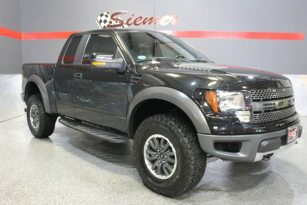 2010 Ford F-150 SVT Raptor*LIFTED, LEATHER, LOADED, BLACK!*CALL*