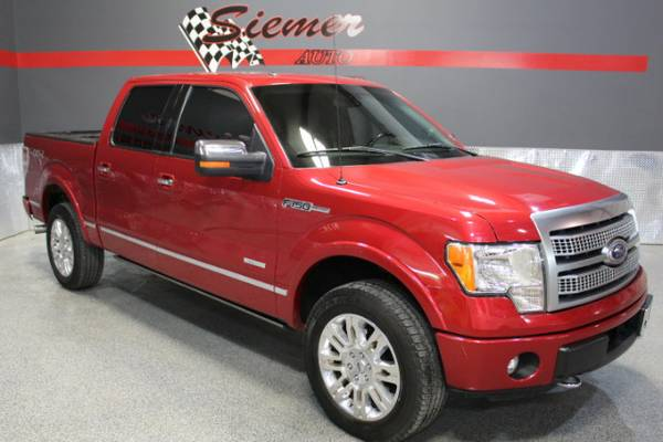 2012 Ford F150 PLATINUM*WE FINANCE, RATES AS LOW AS 2.9%,