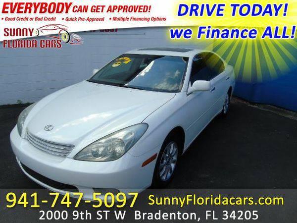 2004 *Lexus* *ES* *330* Sedan - WE FINANCE ALL - EVERY ONE RIDES