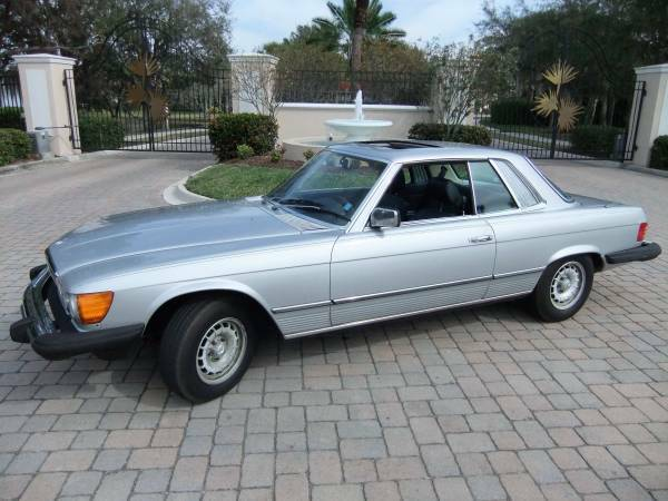 **Classic Mercedes V8 2dr Coupe with Sunroof *Possible trade?