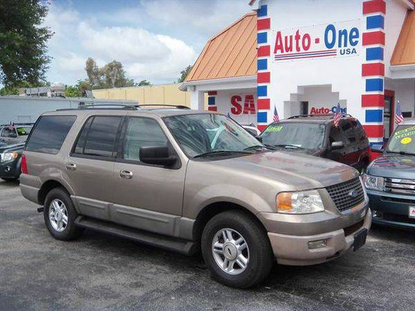 2003 *Ford* *Expedition* XLT Sport Utility 4D ( As low as $495 down )