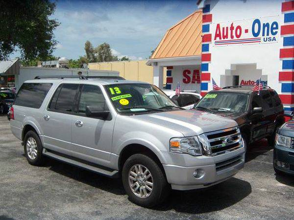 2013 *Ford* *Expedition* *EL* XLT Sport Utility 4D ( As low as $495...