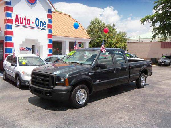 2007 *Ford* *F250* *Super* *Duty* *Crew* *Cab* XL Pickup 4D 6 3/4 ft...