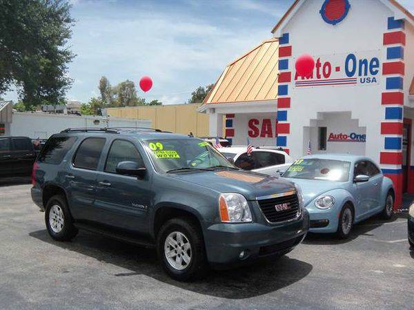 2009 *GMC* *Yukon* SLT Sport Utility 4D ( As low as $495 down )