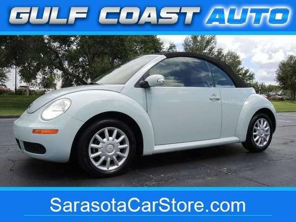 2006 Volkswagen New Beetle Convertible FL CAR! ONLY 59K MI! CARFAX...