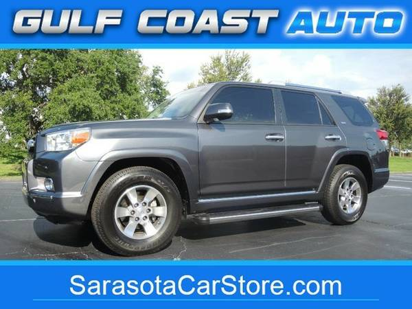 2013 Toyota 4Runner SR5! 1-OWNER! FL CAR! THIRD ROW! WELL MAINTAINED!