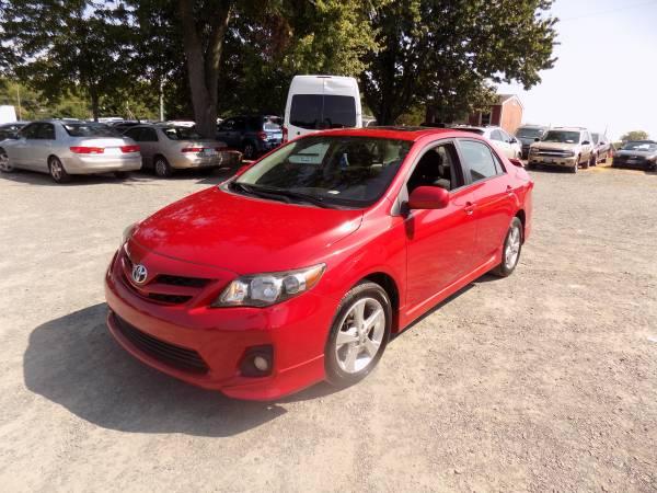 2011 Toyota Corolla S/FINANCIAMIENTO TAX ID PASSPORT OK NO LICENCIA