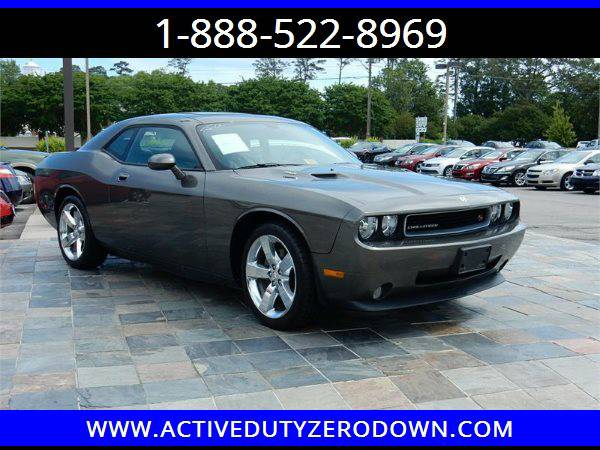 2010 DODGE CHALLENGER R/T= Military Financing= ====
