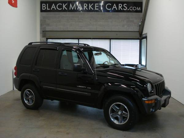 2004 JEEP LIBERTY // 4WD // CLEAN TITLE // MD INSP. PA INSP. // CARFAX