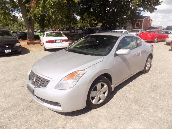 2008 Nissan Altima S(FINANCIAMIENTO TAX ID PASSPORT OK NO LICENCIA)