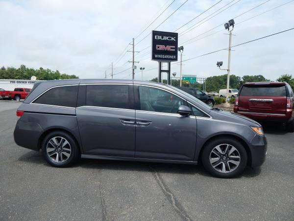 2014 Honda Odyssey Elite