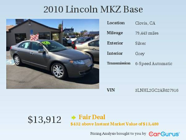 * 2010 Lincoln MKZ * LOADED!! Ask For Doug!
