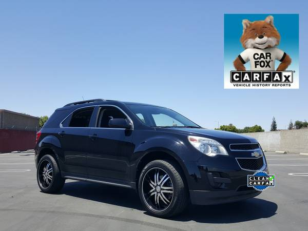 2011 CHEVROLET EQUINOX LT 4 CYL SPORT SUV ON 20 WHEELS BLACKED OUT