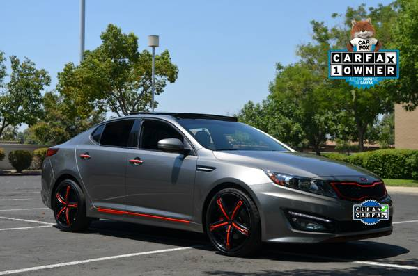 2013 KIA OPTIMA LIMITED SX-L CUSTOM 2.0 TURBO MOON LEATHER NAVIGATION!