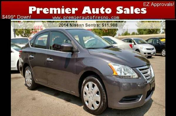 2014 Nissan Sentra SV, Low Miles, All Power,Gas Saver, Clean, Sale