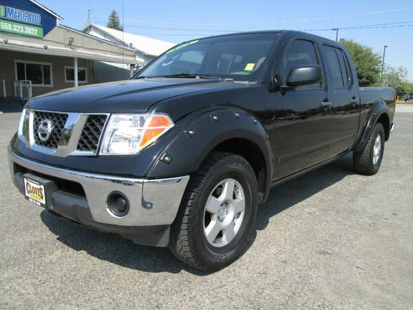 2007 NISSAN FRONTIER 4DOOR 4X4 ..4.0 V6 AUTOMATIC WITH 25 SERVICE RECO