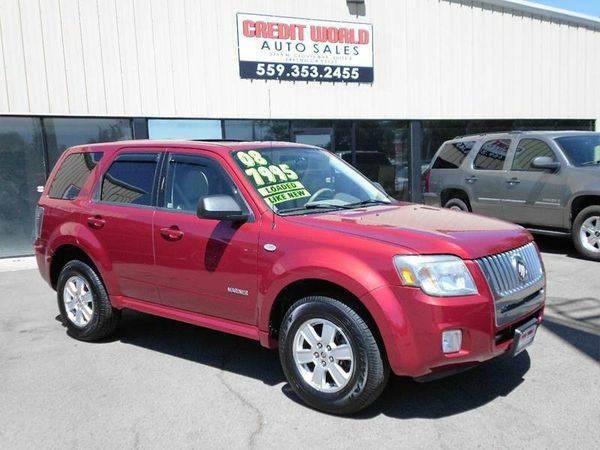 2008 *Mercury* *Mariner* V6 AWD 4dr SUV -👍No Credit, No...