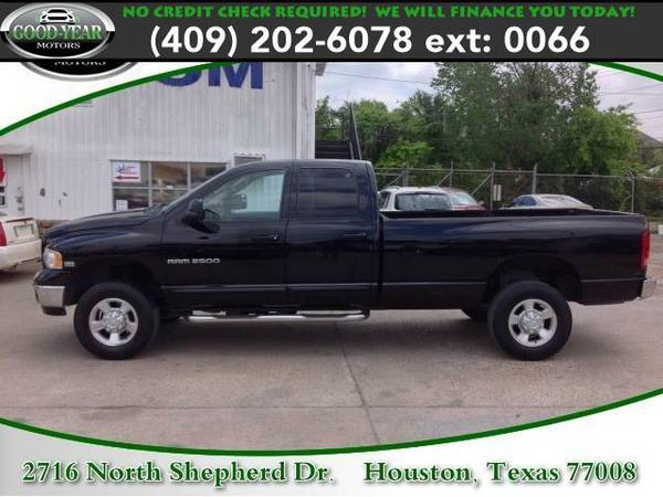 2003 *Dodge Ram 2500* SLT NO CREDIT CHECK REQUIRED!