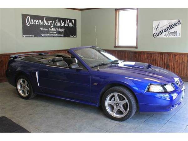 2003 *Ford Mustang* GT Deluxe 2dr Convertible - Electric Blue
