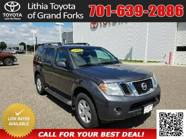 2010 NISSAN PATHFINDER GRAY