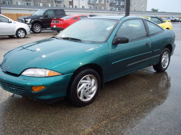 Chevrolet 1997 Cavalier (2-door coupe / 118000 miles) gas saver, 4 cyl