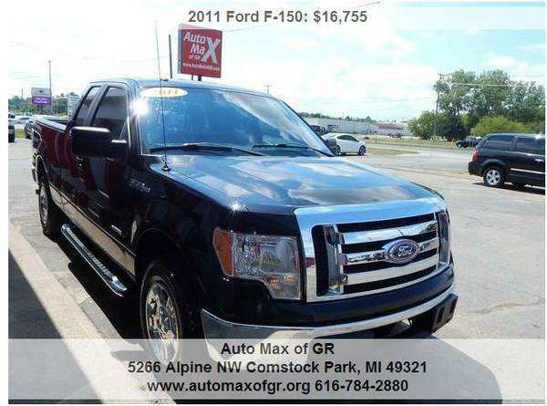 2011 Ford F-150 XLT 4x2 SuperCab ! SYNC ! ECOBOOST ! TOW ! BED LINER