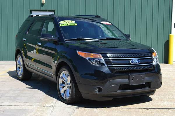 2013 Ford Explorer Limited AWD SUV *CERTIFIED CARFAX AVAILABLE*