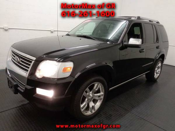 2010 FORD EXPLORER LIMITED*AWD*V8*LEATHER*3RD ROW*LOADED*MOONROOF*