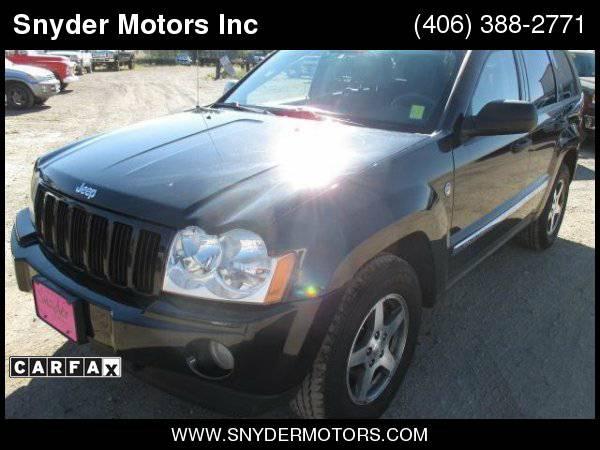 2005 Jeep Grand Cherokee Laredo 4x4 V8 Leather Sunroof