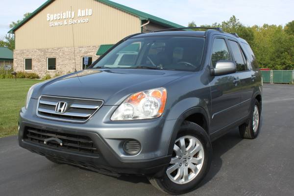 2005 Honda CRV SPECIAL EDITION! Heated Leather! 1 OWNER! Only 98k Mi!