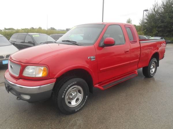 99 FORD F150 (4X4 EXTENDED CAB 118000 MILES)