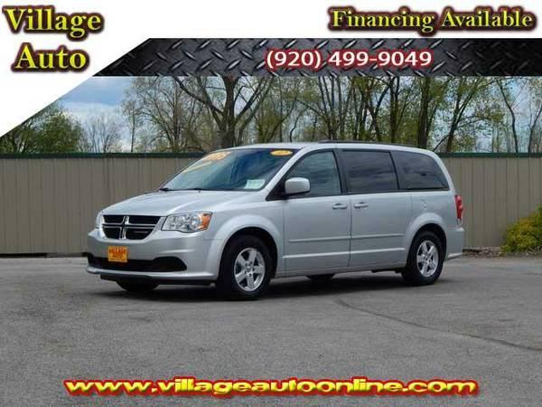 2012 *Dodge Grand Caravan* SXT *Stow N Go* - Silver-TRADE INS WELCOME!