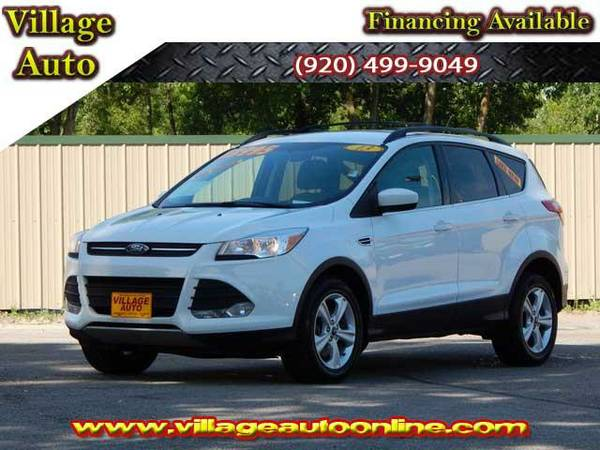 2013 *Ford Escape* SE Ecoboost 4WD *One Owner* - White-TRADE INS...