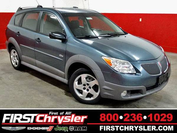 2007 *Pontiac Vibe* Base - Pontiac Stealth (Gray Metallic)