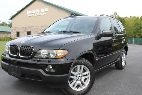 2006 BMW X5 ! AWD! BLACK ON BLACK! 119k Mi! NEW TIRES! Panoramic Moon!