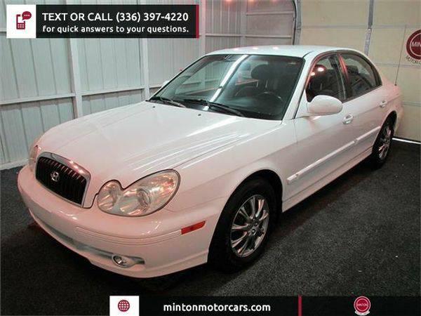 2003 *Hyundai* *Sonata* Base Easiest 1st time buyer program
