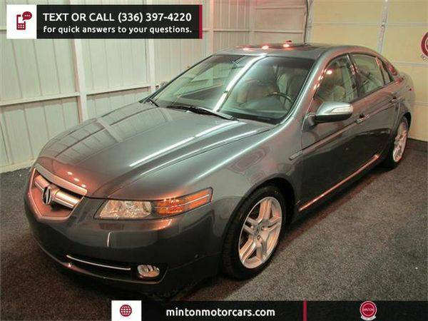 2008 *Acura* *TL* 5-Speed AT with Navigation System Easiest 1st time...